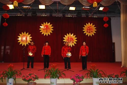 幼儿园歌伴舞《好运来》   第一实验幼儿园班子成员歌曲《